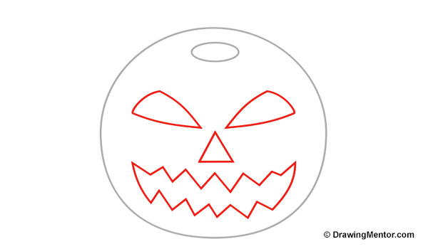 pumpkin drawing. how to draw a pumpkin drawing