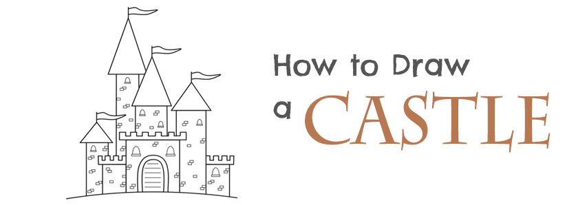 How to Draw a Castle - Drawing Mentor