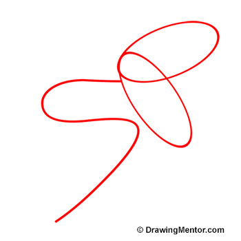 how to draw a snake
