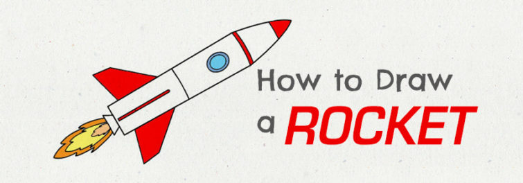 How to Draw a Rocket Ship
